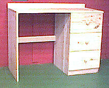 Desk/Dressing table with 3 drawers