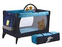 Hauck travel cot play pen