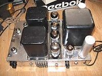 KNIGHT KB-85 STEREO TUBE AMPLIFIER & MATCHING TUBE PREAMPLIFIER