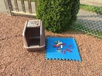 CAT LITTER BOX WITH CLEAR WINDOW***plus plus
