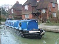 One week sleep 6 quality narrowboat holiday from 27 Aug near Bath