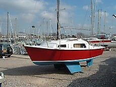 Arran 550 sailing boat  18 foot sail boat with 4hp outboard, 4 berth, with  VHF, GPS, ready to go now | in Folkestone, Kent | Gumtree