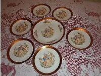 Vintage Czechoslovakia Plates