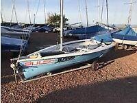 RS 200 racing dinghy