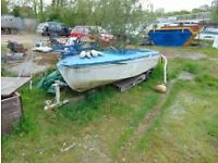 Salters Ex-Hire GRP Motor Dayboat
