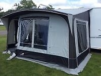 Apache Windsor Porch awning with additional annexe