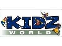 Cook Required for Kidsworld Softplay in Ruchazie