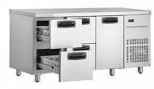 Under Bar Drawer Fridge (1 Door/4 Drawers) UBD4000 Catering Equip Campbellfield Hume Area Preview