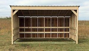 Horse Shelters / Calf Shelters / Livestock Shelters / Barns