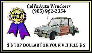 Celis Auto Wreckers  WE WANT YOUR CAR!