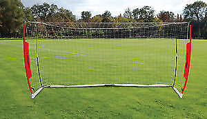 perfect gift item sportcraft portable 6x12 soccer net in bag
