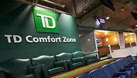 *Toronto Blue Jays 200 Level CLUB SEATS TD Comfort Zone - ROW 1*