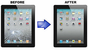 Apple iPad and Apple iPad Mini glass & screen repair...All Model
