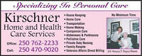 Kirschner home care