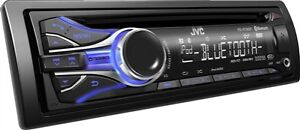 JVC Radio/CD/MP3/WMA récepteur aux/USB illuminant multicolore
