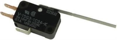 Omron Electronic Components V-15g3-1c24-k By Omi Microswitch Pack Of 2