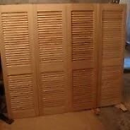 Closet Doors - Plantation Style Shutters