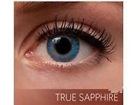 Freshlook Colorblends Natural Looking in True Sapphire Color