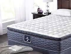 Serta Caliente III KIngsize mattress and boxspring for sale