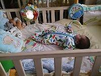 cot bed, ex con, babies r us