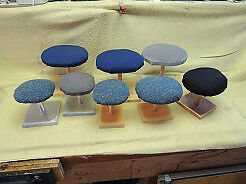 Hat Stands set of 14 items.
