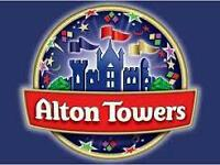 Alton towers tickets ×2