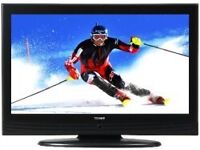 "32"" black lcd TV fully working with built in freeview hdmi and remote control can deliver"