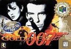 GoldenEye 007 Video Games with Manual