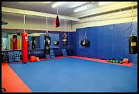 Martial arts/kickboxing space