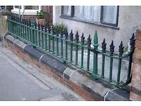Wanted -Victorian iron walltop railings