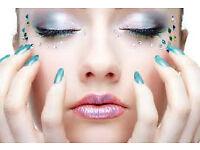 J.C. Nails and Beauty shop/salon (Northfield) Acrylic nail extensions - Eyelash extensions.