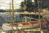 """Canoe"" Print, by Tom Thomson"