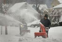 Snow removal Services with Snow Blowers and Shovels