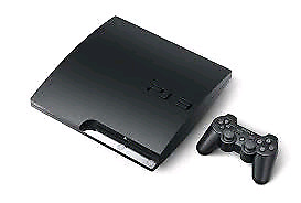 Playstation 3 320 Go with a bunch of games
