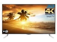 Panasonic TX-48CX400B Smart 4K Ultra HD 48 Inch LED TV with Built-In WiFi and Freeview HD