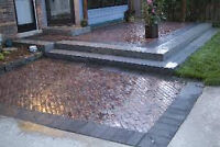 Pavers Interlocking Concrete Repair restoration wash sealing