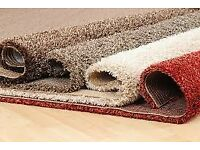 Carpets and cushioned vinyl supplied and fitted or supply only.