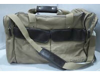 Calvin Klein Duffle Bag CK Handbag Brown Canvas only £15