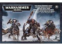 Warhammer 40k thunderwolf cav new in box