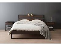 IKEA TRYSIL - Double Bed & 2 Bed Side Tables
