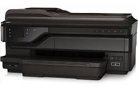 NEW -HP Office Jet Printer 7612 A3 & A4 Printer, Fax and Scanner Copier, Web