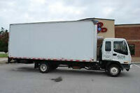 SHORT NOTICE MOVERS,ALL SIZE TRUCKS AVAILABLE,$40/HR