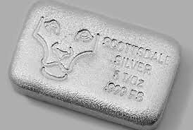 Bar en argent/silver 5 oz Scottsdale hand poured