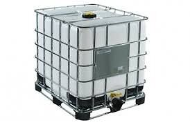 1000L PLASTIC LIQUID IBC CUBES / TANK / WATER CONTAINERS FOR SALE