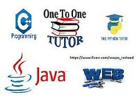 BASIC TO EXPERT LEVEL TUTORING ON C JAVA PYTHON CSS HTML SQL