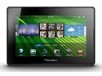 blackberry playbook 7 black 64gb wifi in good working condition