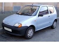 """Looking for Transportation for a fiat 600 - from Gloucester to Fraserburgh (11""""x5"""")"""