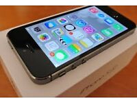 iPhone 5s mint con boxed 3 weeks old