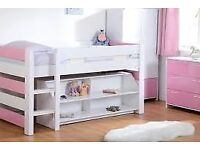 Mid-Sleeper / Bunk Bed With Storage