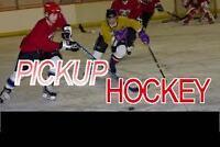 Pickup hockey Wednesday nights at East York Arena